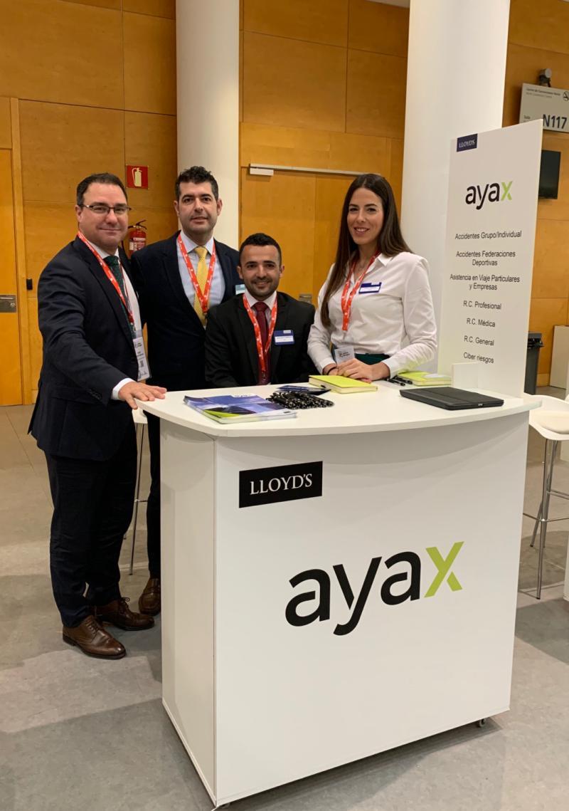 Participación de Ayax Suscripción de Riesgos SL en la Semana del Seguro 2020.
